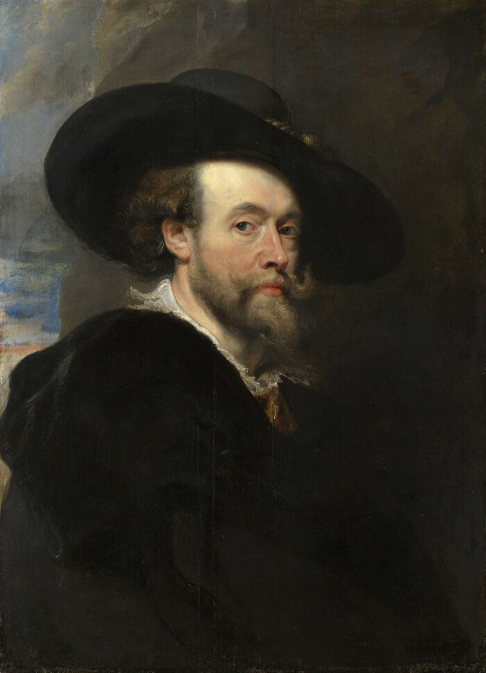 Peter Paul Rubens (1577-1640), <em>A Self-Portrait</em>, Signed and dated 1623, Royal Collection, RCIN 400156