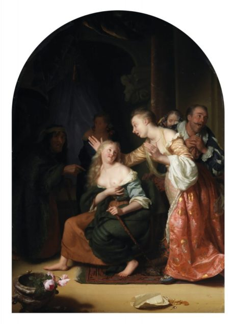 Godefridus Schalcken (1643-1706), <em>Precious Recognized</em> late 1660s National Gallery of Ireland, Dublin,