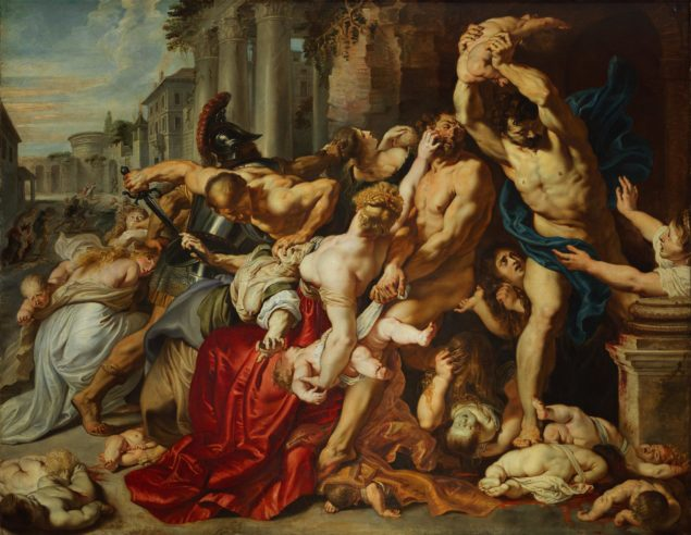 Rubens (1577-1640), The Massacre of the Innocents, ca. 1610 Art Gallery of Ontario, Toronto