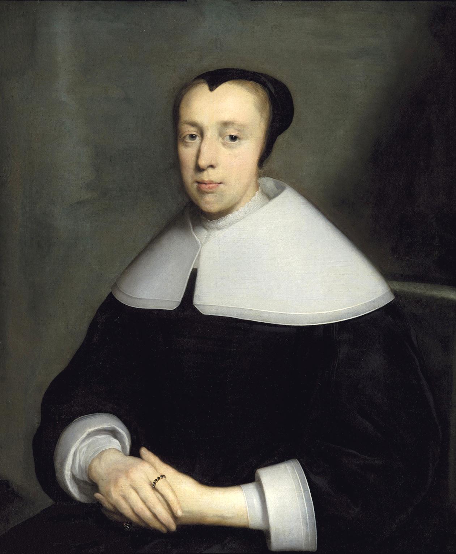 Cornelis Jonson van Ceulen I (1593-1661), Portrait of a Young Lady, Signed 'Cornelius Jonson van Ceulen fecit' and dated '1654'