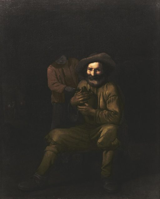 Attributed to Michael Sweerts, (1618-1664), <em>A Peasant Holding a Wine Jug</em>, ca.1650 Agnes Etherington Art Centre at Queen's University, Kingston