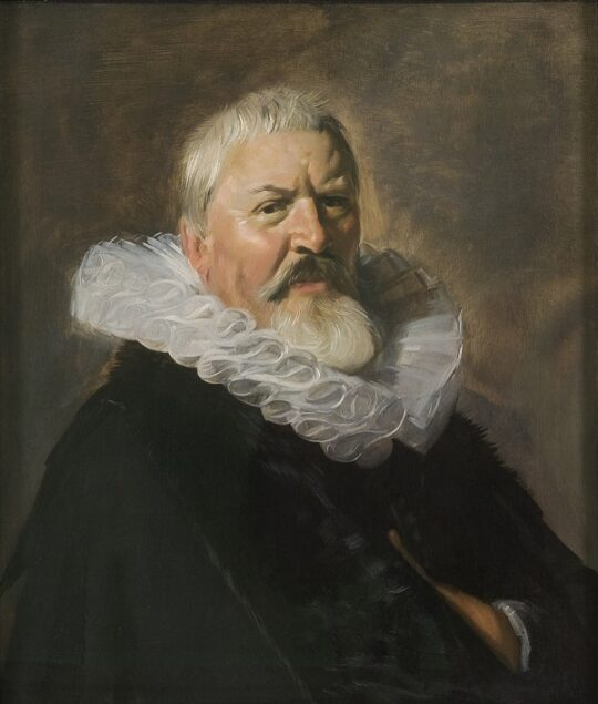 Frans Hals (1582-1666), <em>Portrait of Pieter Jacobsz Olycan</em>, (ca. 1629-30) On loan from a private collection, Frans Hals Museum, Haarlem