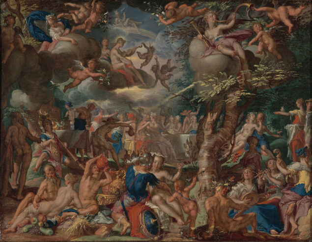 Joachim Wtewael (1566-1638), The Wedding of Cupid and Psyche Cetraal Museum, Utrecht