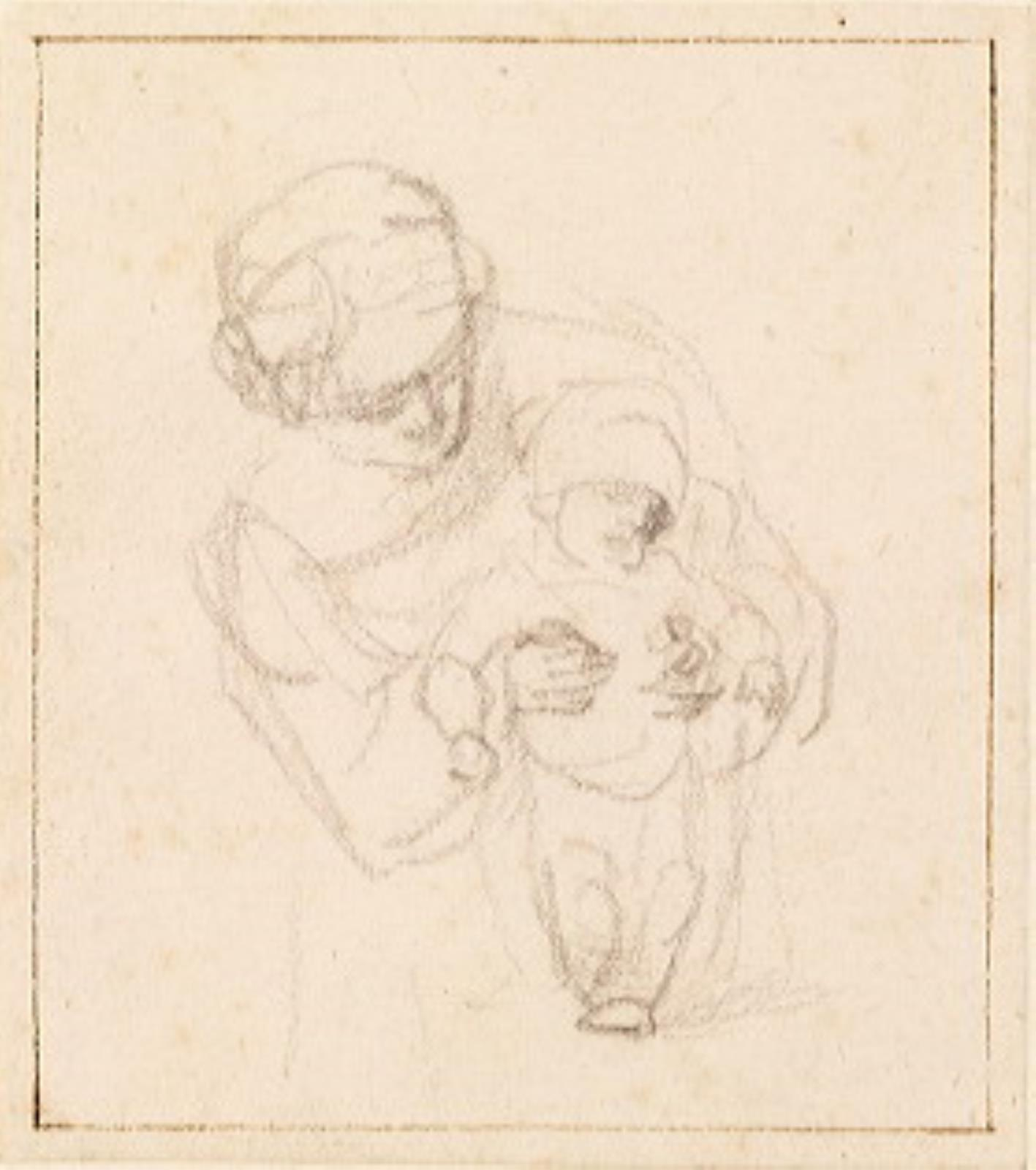 Rembrandt van Rijn (1606-1669), <em>Woman and Child</em>, ca. 1635-1637 Amsterdam Museum, Amsterdam