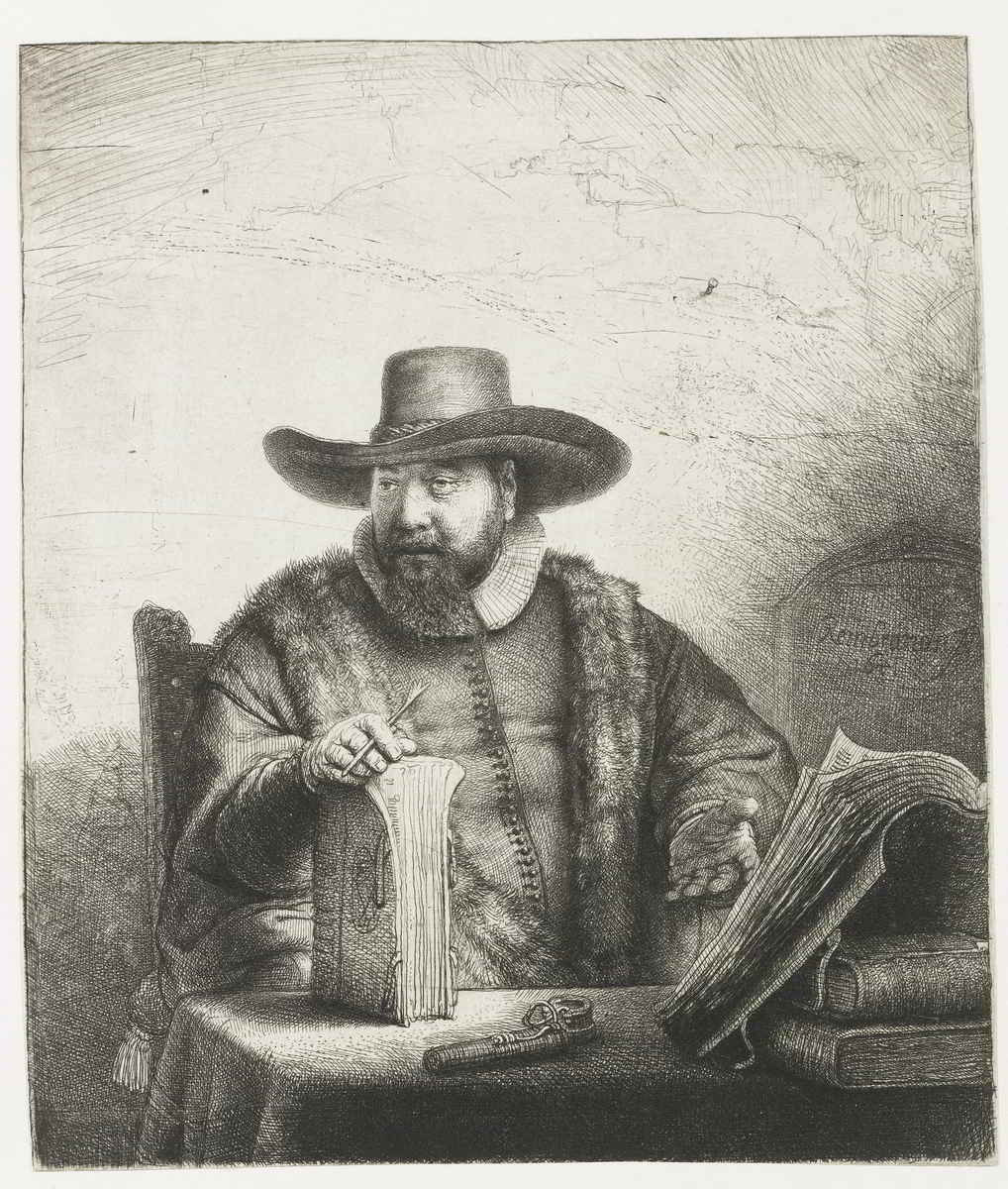 Rembrandt van Rijn (1606-1669), <em>The Preacher Cornelis Claesz. Anslo,</em> 1641 Rijksmuseum, Amsterdam