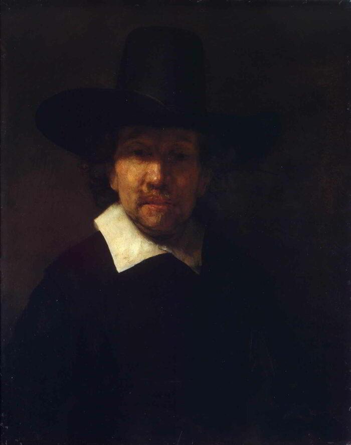 Rembrandt van Rijn (1606-1669), <em>Portrait of the Poet Jeremias de Decker</em>, 1656 or 1666 State Hermitage Museum, St. Petersburg