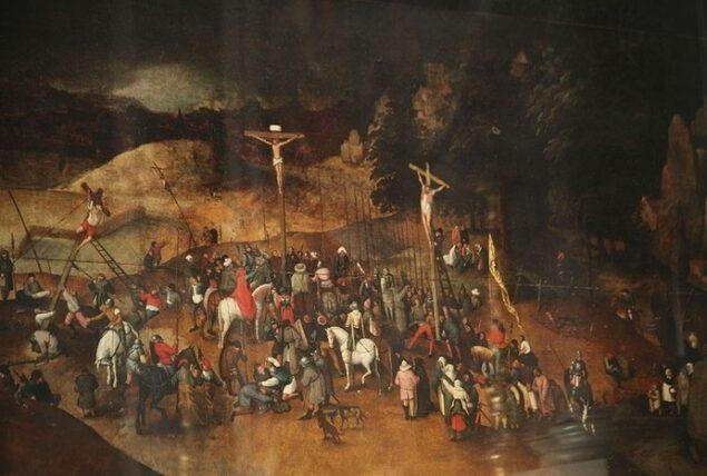 Pieter Breughel the Younger (ca. 1564 - 1637/38), <em>Crucifixion</em>, ca. 1617 Chiesa Di Santa Maria Maddalena, Castelnuovo Magra