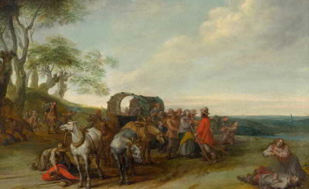 Peter Snayers (1592-1667), Robbery of Travelers, ca. 1640-50 The Phoebus Foundation, Antwerp