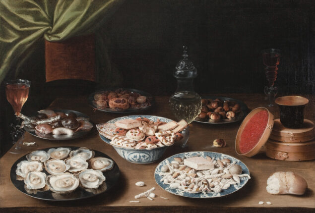 Osias Beert (1580-1624), <em>Still Life with Various Vessels on a Table,</em>, ca. 1610 Susan and Matthew Weatherbie Collection, Museum of Fine Arts, Boston