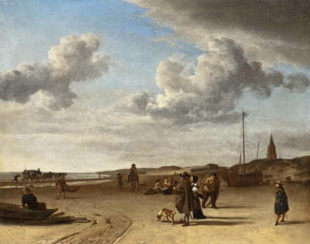 Adriaen van de Velde (1636-1672), <em>The Beach Scheveningen</em>, 1670 Carter Collection, Los Angeles County Museum of Art, Los Angeles