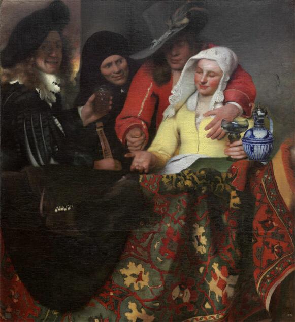 Johannes Vermeer (1632-1675), <em>The Procuress, 1656, Gemäldegalerie Alte Meister</em>, Staatliche Kunstsammlungen Dresden