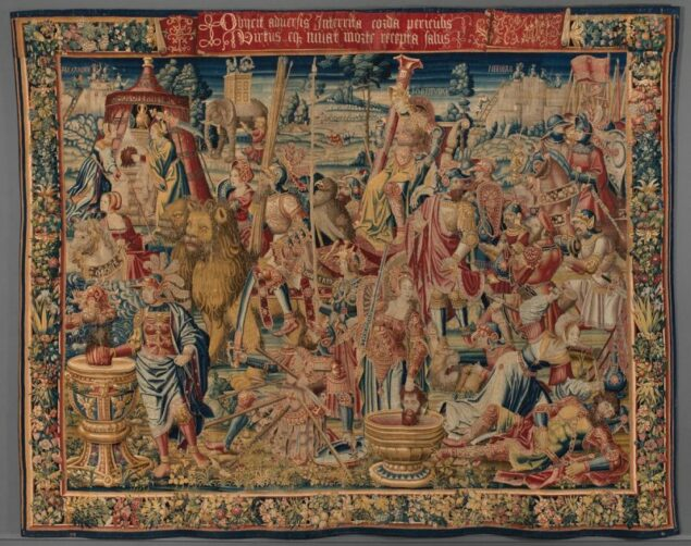 Unknown Flemish artist, <em>Triumph of Fortitude</em>, ca. 1535 Fine Arts Museums of San Francisco, San Francisco