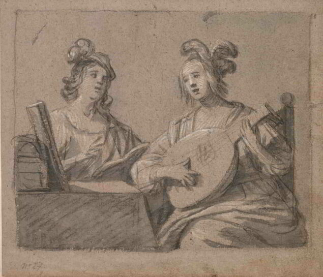 Gerrit van Honthorst (1592–1656), <em>Musical Scene</em>, 1625–55 The Cleveland Museum of Art, Cleveland