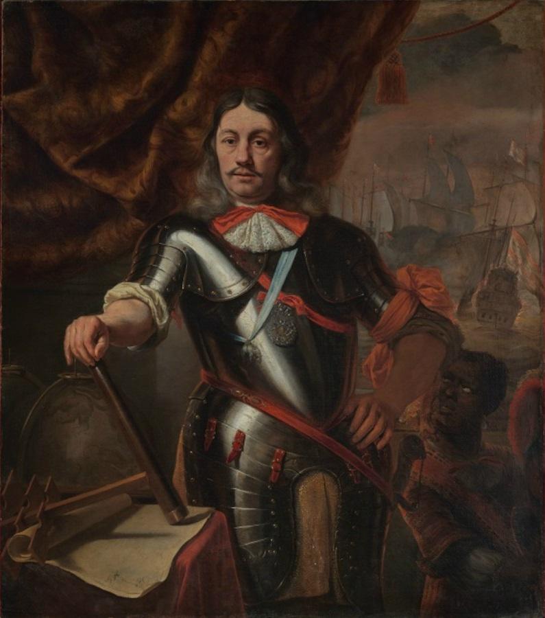 Attributed to Ferdinand Bol (1616-1680), <em>Portrait of Lieutenant Admiral Cornelis Tromp (1629-1691)</em>, ca. 1667 Het Scheepvaartmuseum, Amsterdam