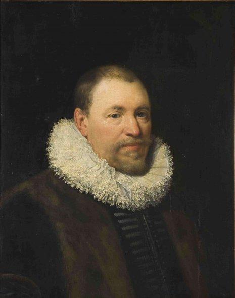 Jan Anthonisz. van Ravesteyn (1572-1657), <em>Portrait of Nicolaas Cromhout</em>, ca. 1620 National Gallery of Prague, Prague