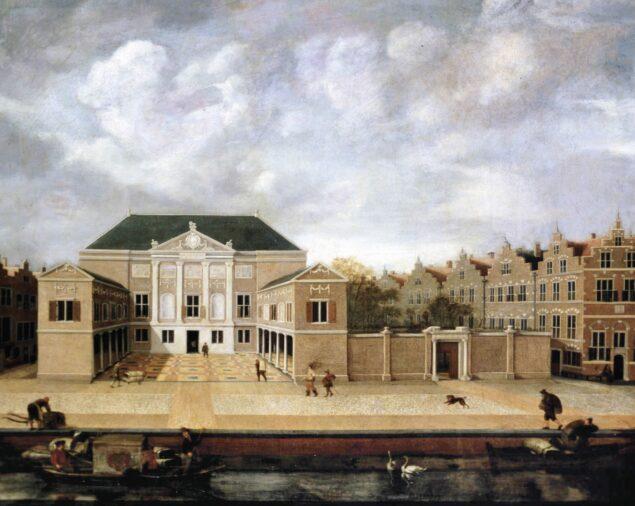Susanna van Steenwijck-Gaspoel (1580-1653), <em>View of de Lakenhal in Leiden</em> 1642 Museum De Lakenhal, Leiden