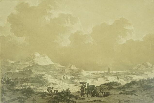 Johannes Christianus Schotel (1787-1838), <em>Landscape</em>, ca. 1800-38 National Library of Latvia, Riga