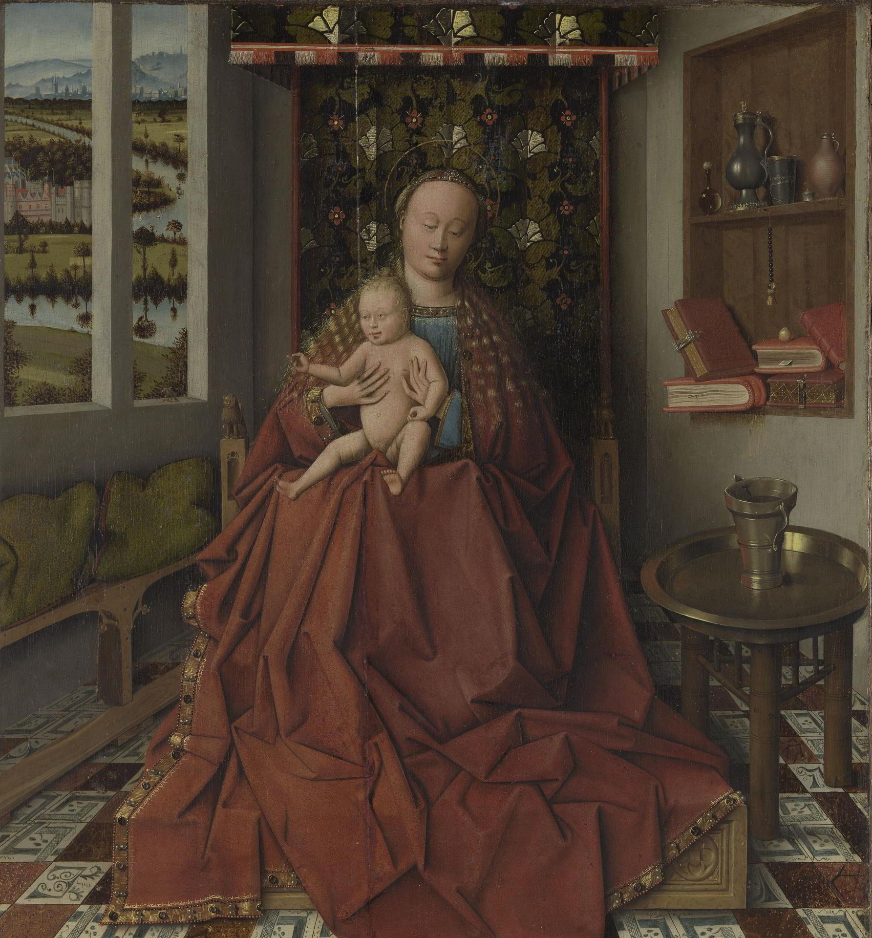 Follower or workshop of Jan Van Eyck,, <em>Virgin and Child</em>, ca. 1450 Musea Brugge, Bruges