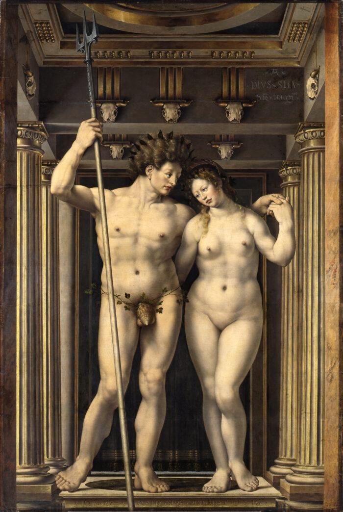 Jan Gossart (ca. 1478-1532), Neptun and Amphitrite, 1516 Gemäldegalerie, Staatliche Museen zu Berlin