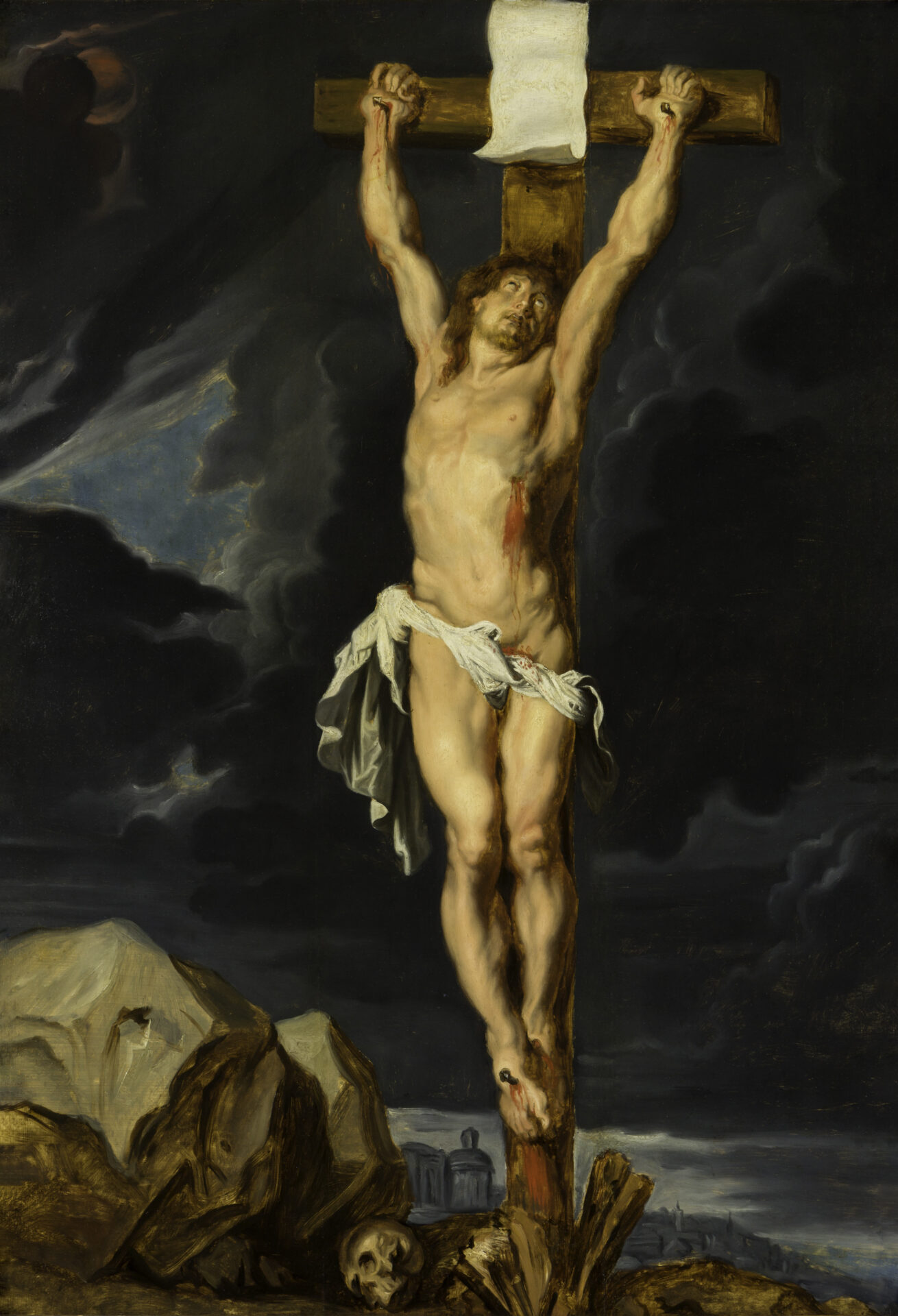 Rubens (1577-1649), Christ on the Cross, ca. 1610 Museum and Gallery at Bob Jones University, Greenville, SC.