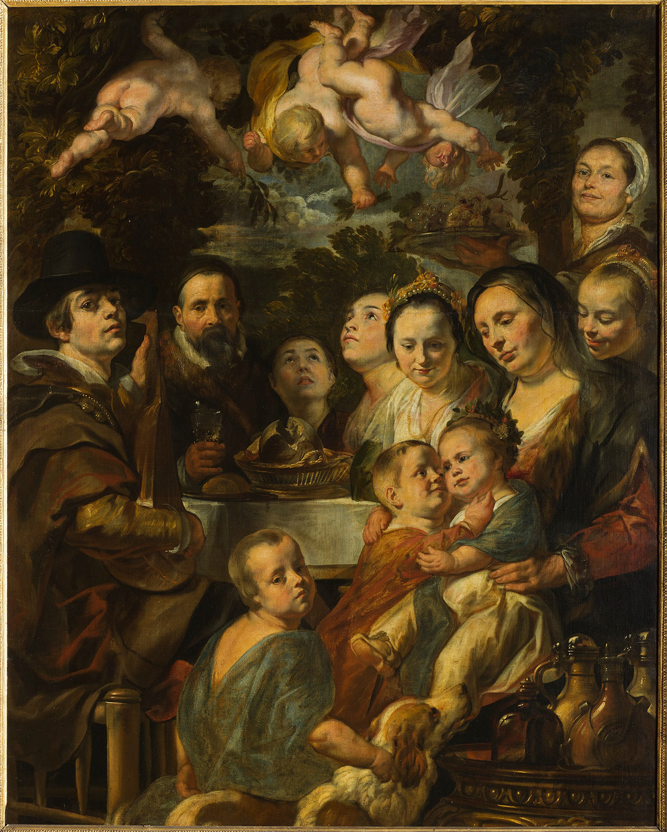 Jacob Jordaens (1593-1678), Self-Portrait with Parents, Brothers, and Sisters, ca. 1615 State Hermitage Museum, St. Petersburg
