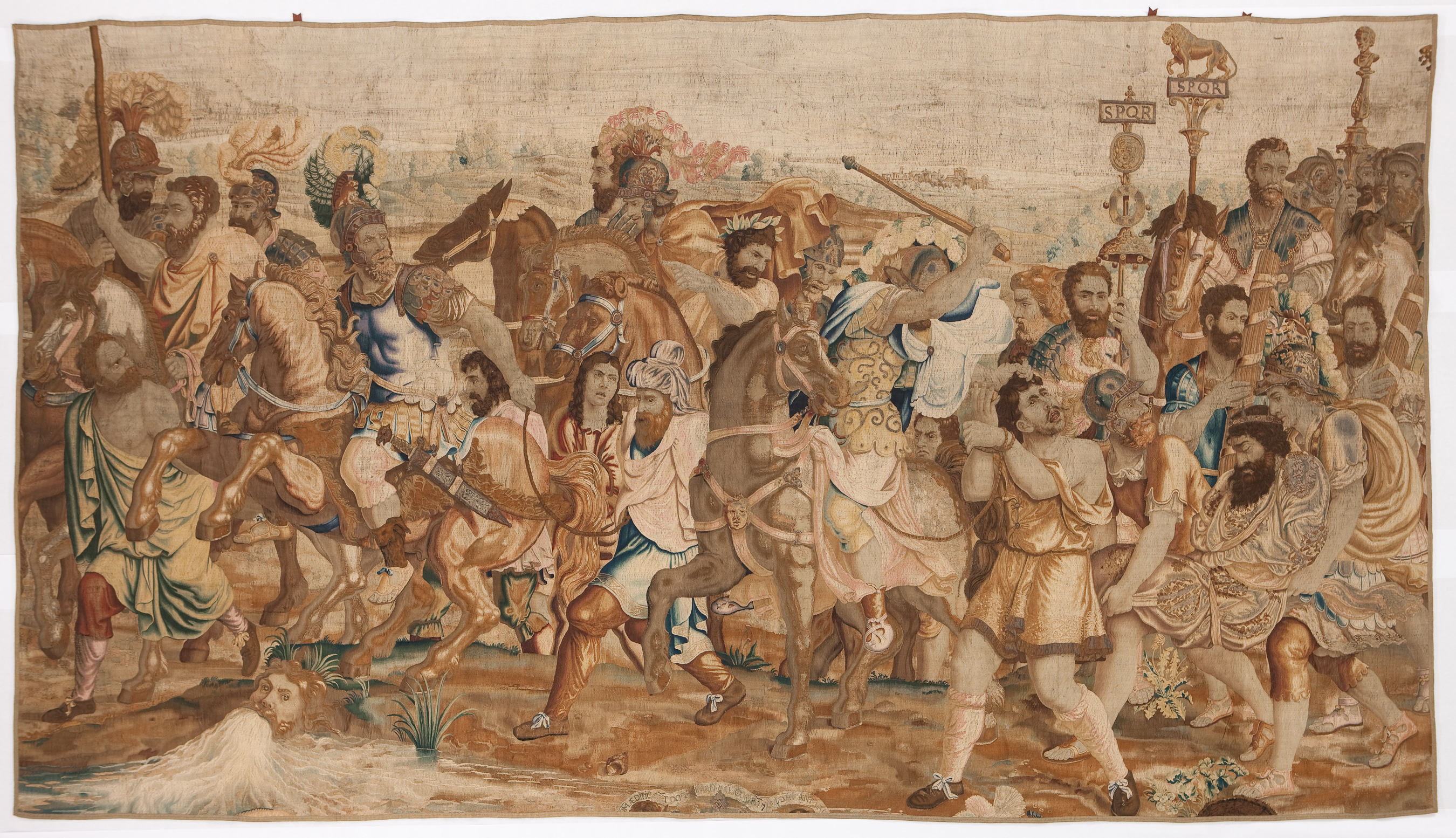 "Brussels, The Captive Rulers , from ""The Deeds and Triumph of Scipio Africanus,"" ca. 1660, tapestry Detroit Institute of Arts"
