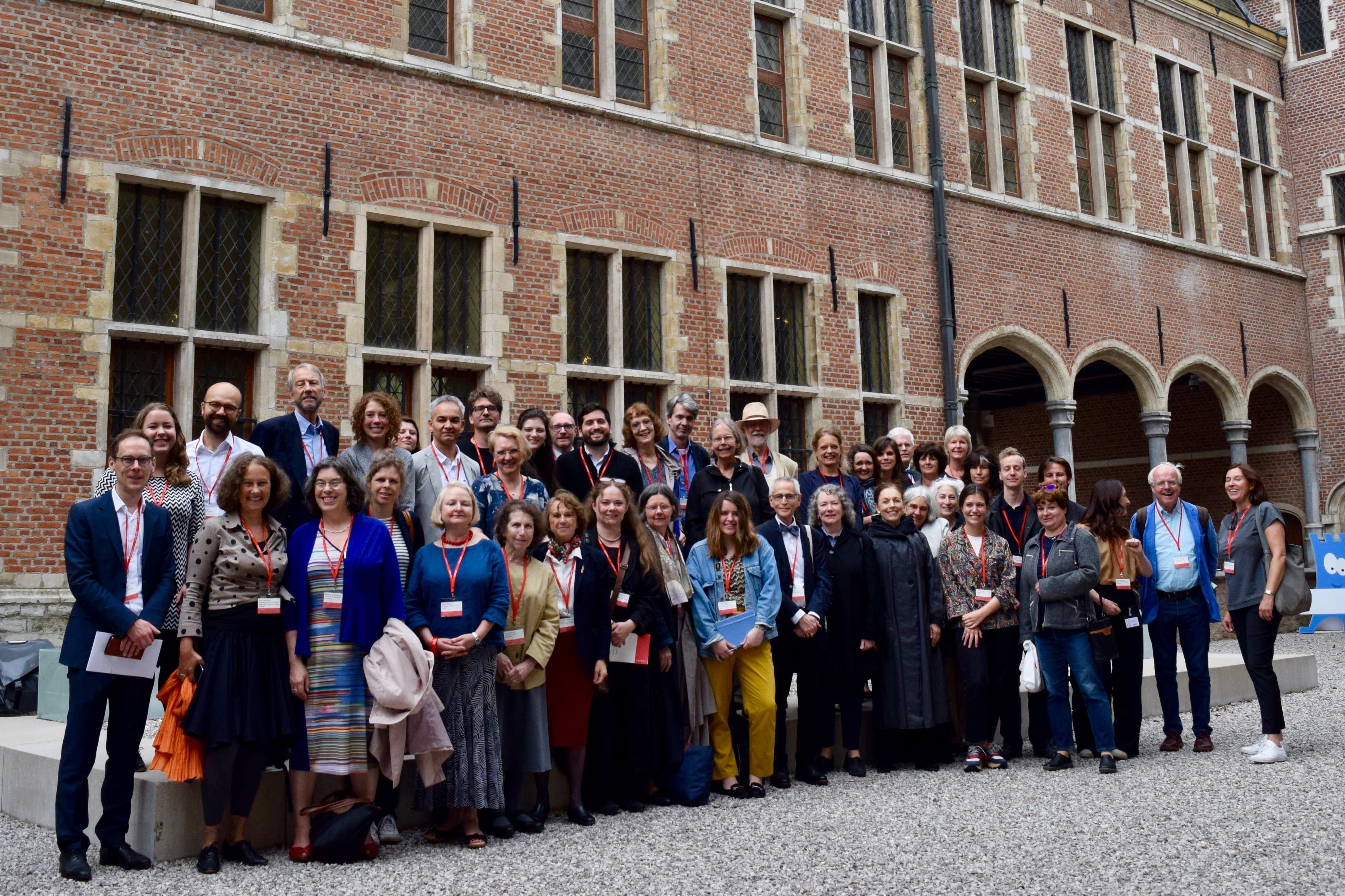 A Merry Company. Participants of the CODARTfocus Mechelen
