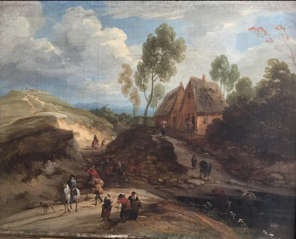 Lodewijk de Vadder (1605-1655), <em>Landscape with Horseman and Peasants</em>, ca. 1628-55 National Gallery of Ireland, Dublin