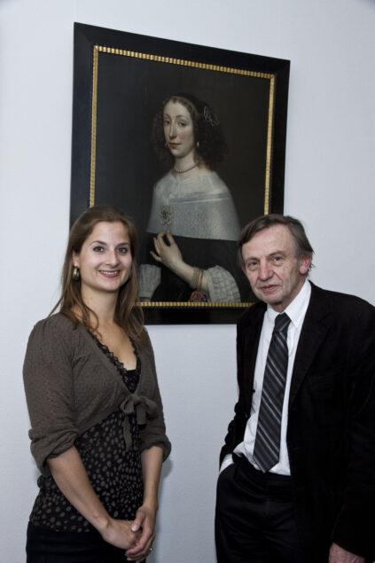 Geerte Broersma and Rudi Ekkart (photo: Carla van de Puttelaar)
