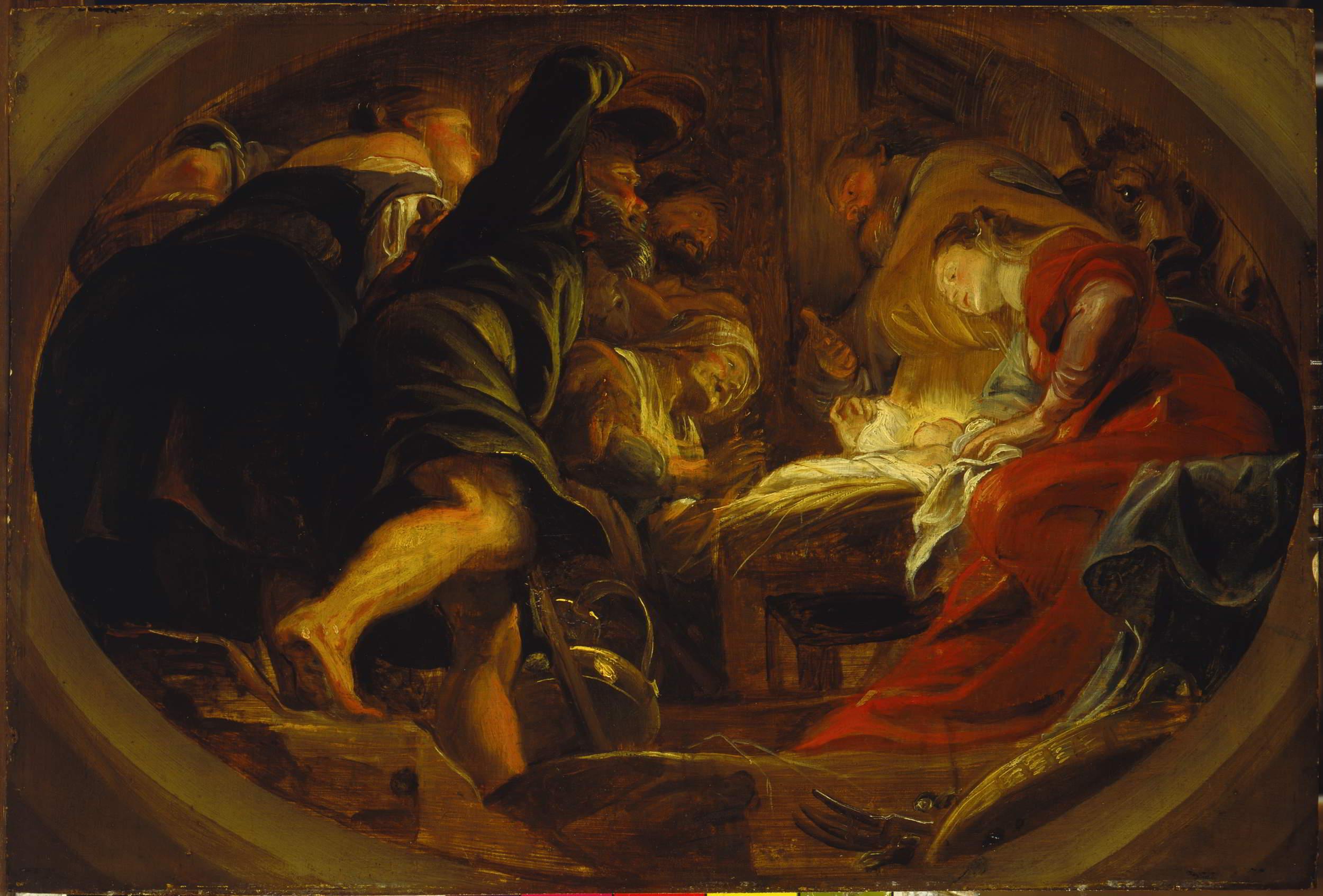 Rubens (1577-1649), <em>Adoration of the Shepherds</em>, 1620 Kunsthistorisches Museum, Vienna