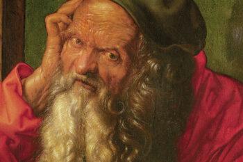 Albrecht Dürer (1471-1528), Saint Hieronymus (detail), 1521 Museu Nacional de Arte Antiga, Lissabon