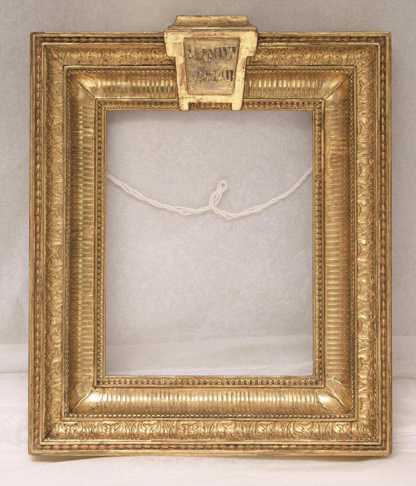 The frame of the Bon Vivant