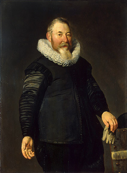 Thomas de Keyser (1596/97-1667), Portrait of a Man, 1632 State Hermitage Museum, St. Petersburg