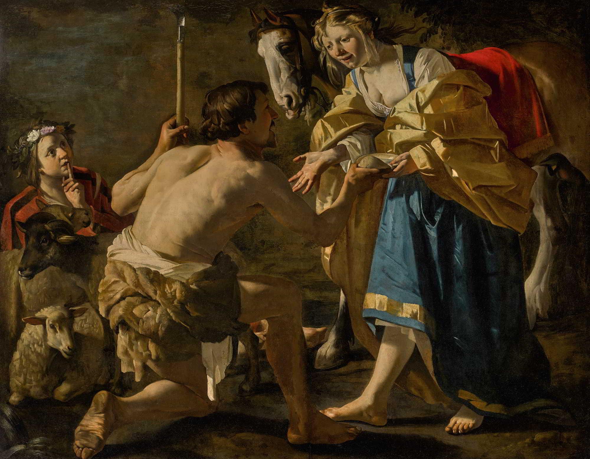Dirck van Baburen (ca. 1592/1593–1624), Granida and Daifilo, ca. 1623 Centraal Museum, Utrecht