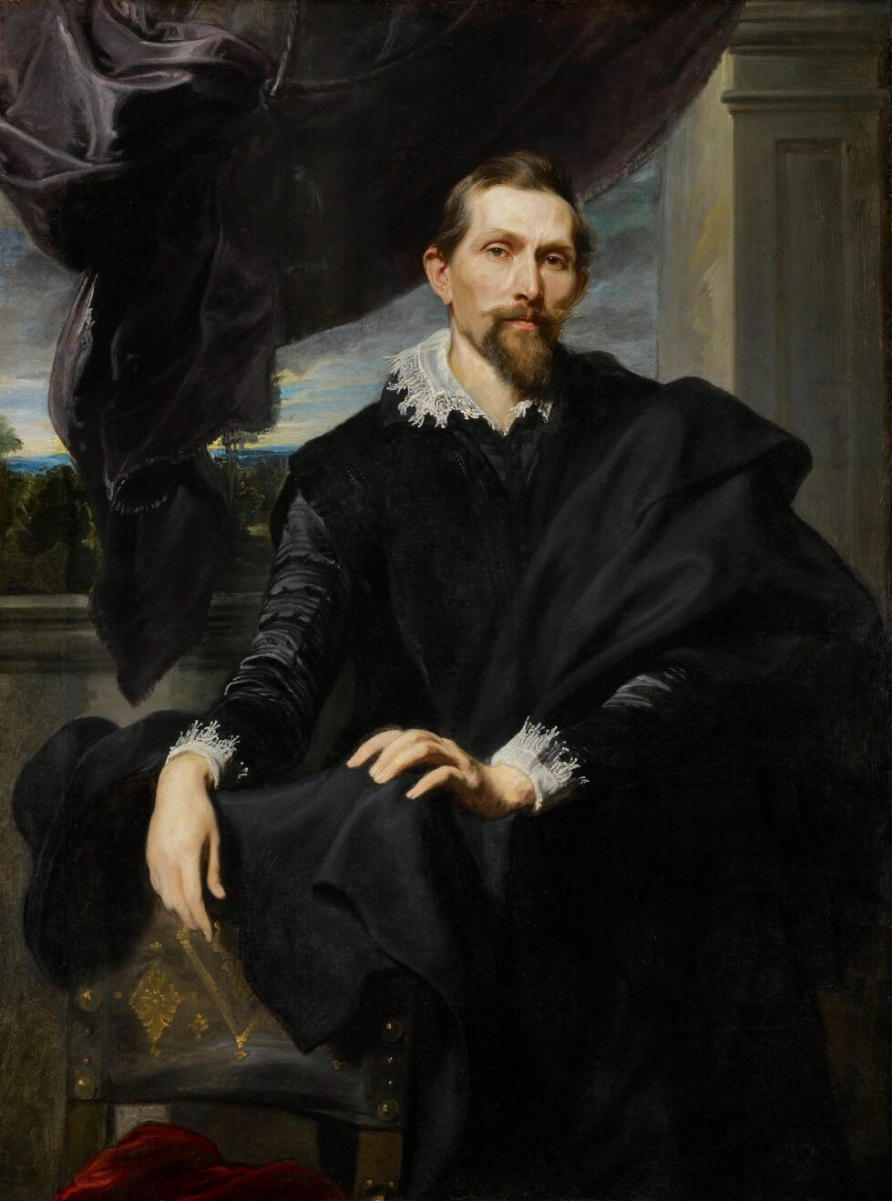 2. Anthony van Dyck (1599-1641), Frans Snyders, c. 1620 The Frick Collection, New York Henry Clay Frick Bequest (1909.1.39) © The Frick Collection