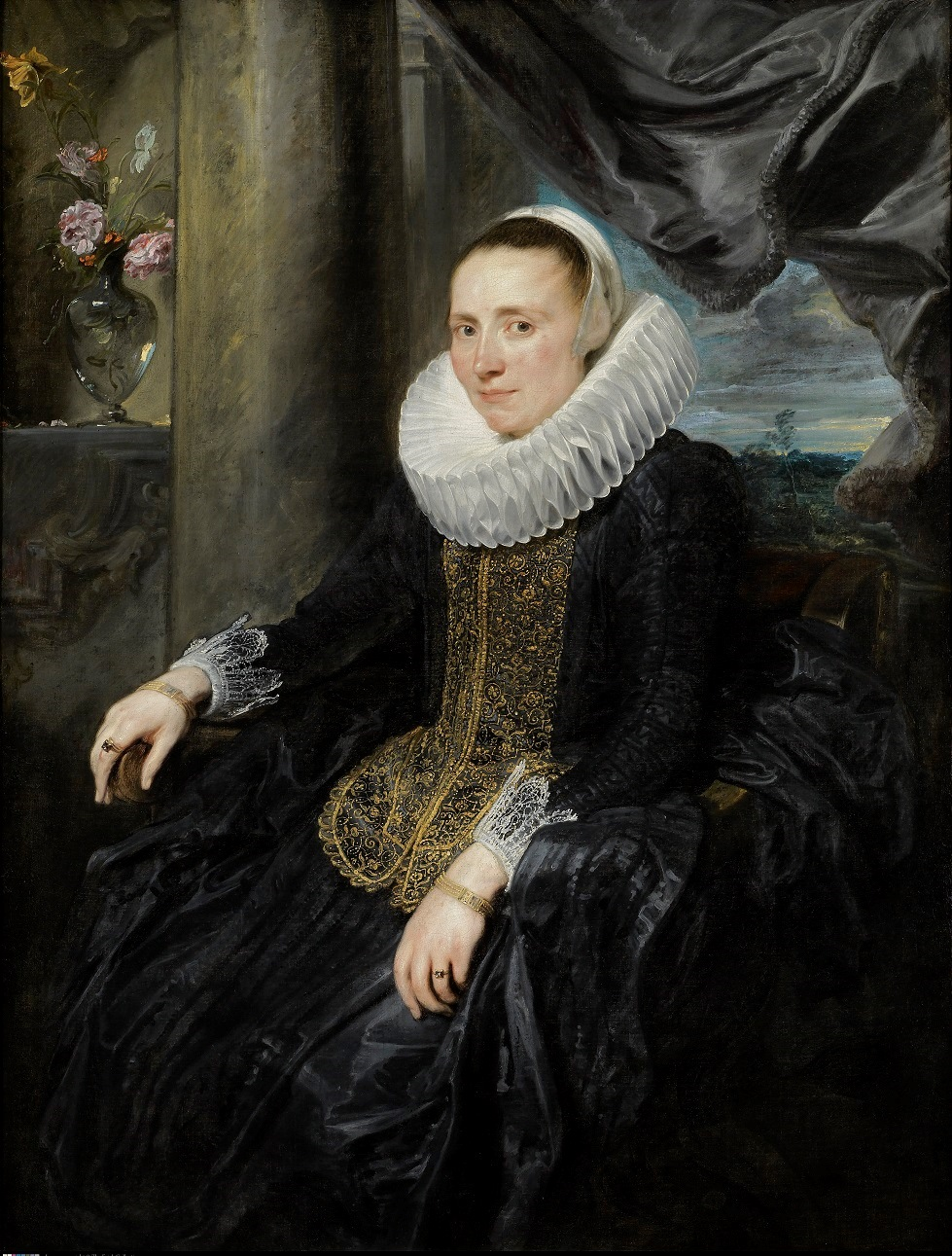 3. Anthony van Dyck (1599-1641), Margareta de Vos, c. 1620 The Frick Collection, New York Henry Clay Frick Bequest (1909.1.42) © The Frick Collection