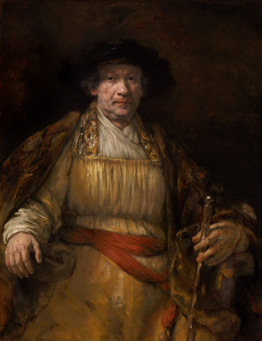 4. Rembrandt Harmensz van Rijn (1606-1669), Self-Portrait, 1658 The Frick Collection, New York Henry Clay Frick Bequest (1906.1.97) © The Frick Collection