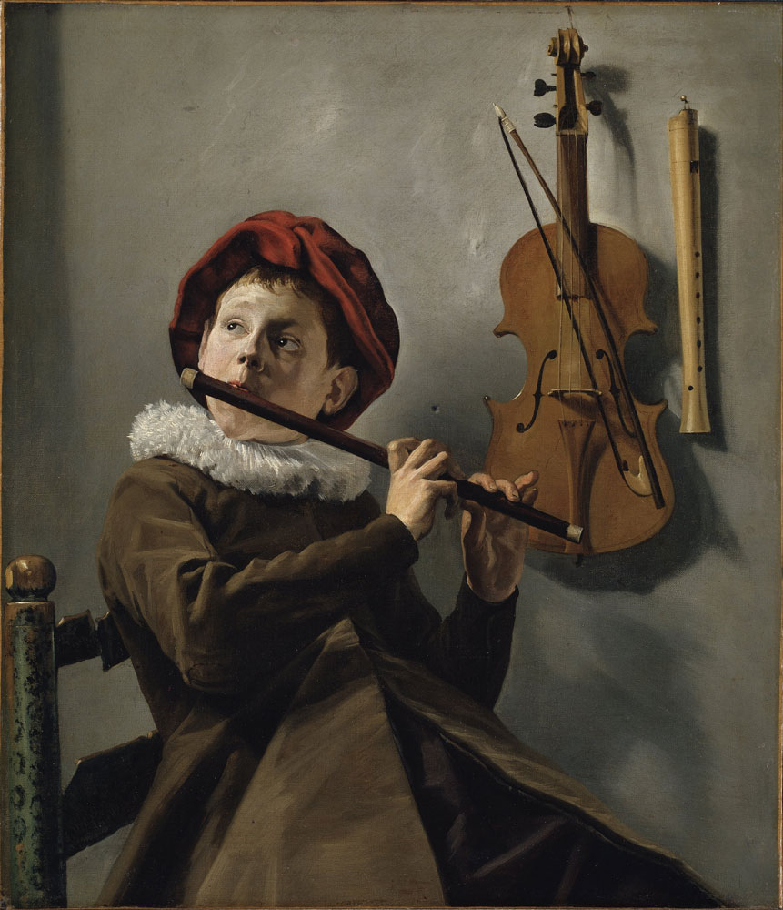 Judith Leyster (1609-1660), Boy Playing the Flute, ca. 1630s, Nationalmuseum, Stockholm