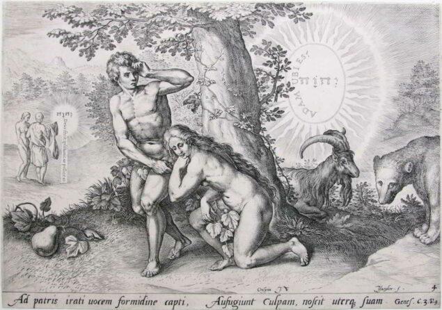 Jan Sadeler I, The Fall 1643 Krannert Art Museum, University of Illinois, Urbana-Champaign