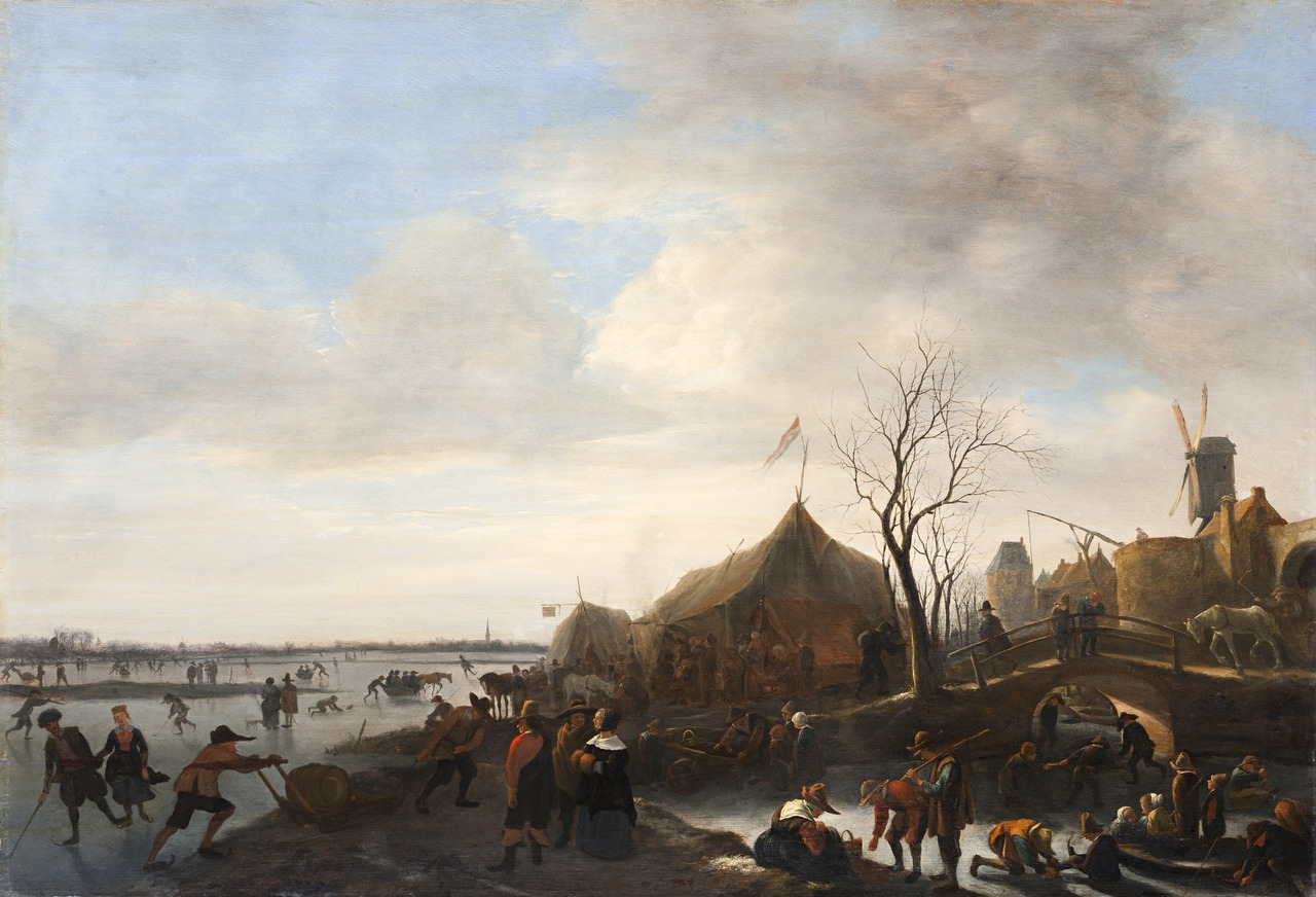 Jan Steen (1625/1626–1679), <em>Winter Landscape</em>, ca. 1650 Skokloster Castle, Stockholm
