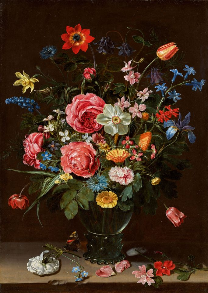 Clara Peeters (ca. 1587–after 1636), <em>A Bouquet of Flowers</em>, 1612 Metropolitan Museum of Art, New York