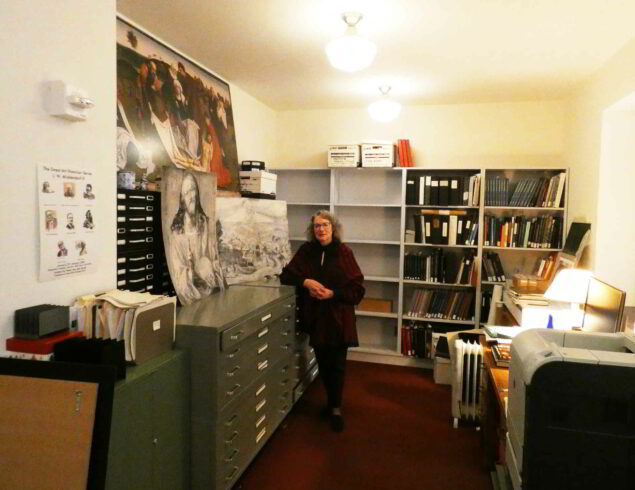 Maryan Ainsworth and her archive at The Metropolitan Museum of Art
