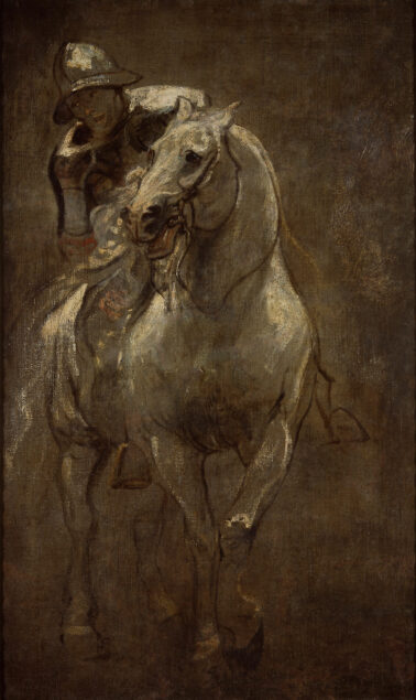 Anthony van Dyck (1599-1641), A Soldier on Horseback, ca 1616 Christ Church Picture Gallery, Oxford