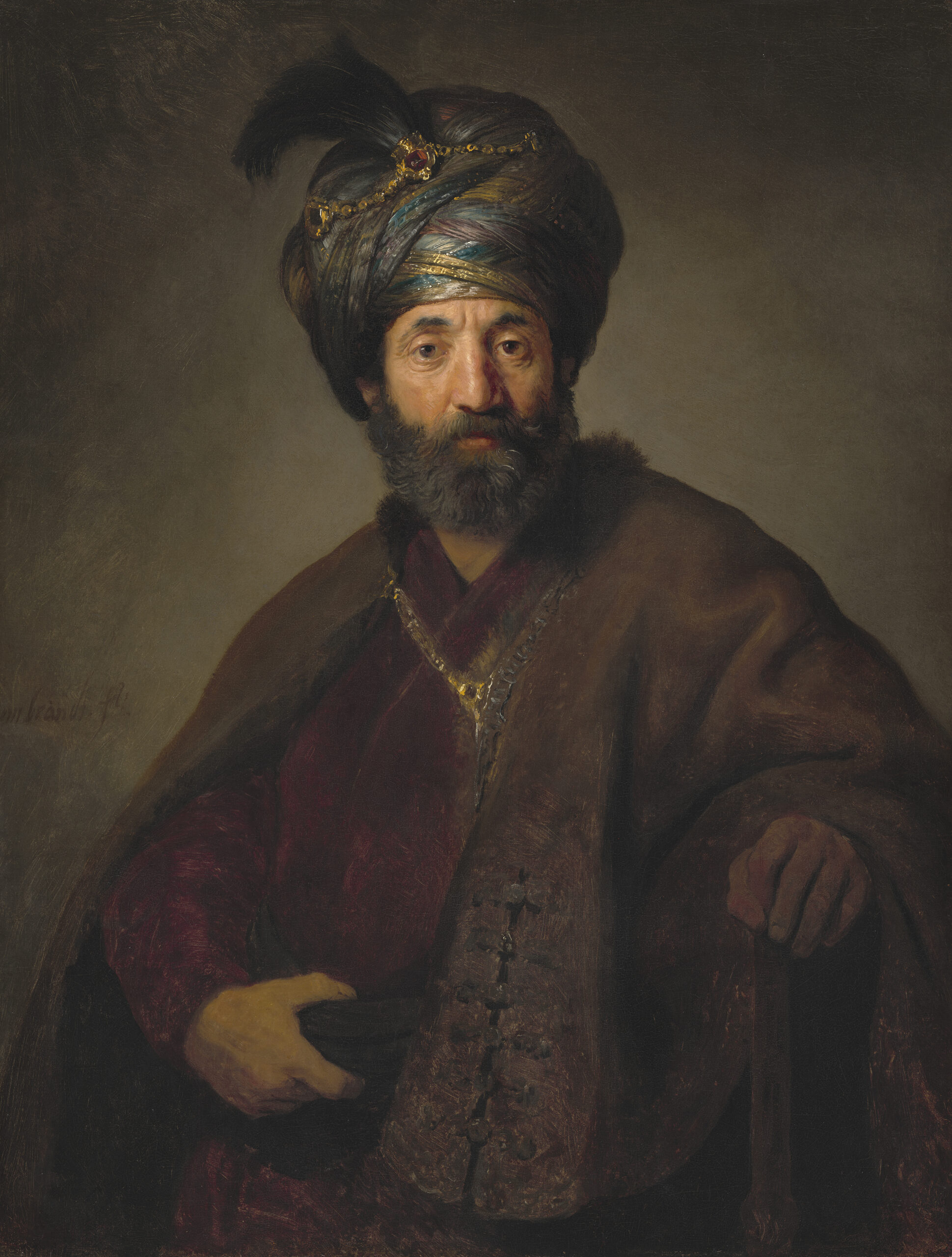 Rembrandt's Orient: An Exhibition in Basel and Potsdam - CODART