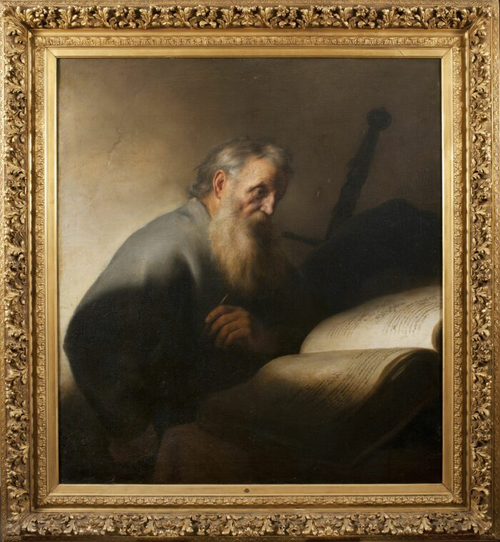 Jan Lievens (1607-1674), The Apostle Paul, ca. 1627-1629 Nationalmuseum, Stockholm