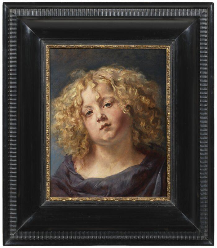 Thomas Willeboirts Bosschaert (1613/1614-1654), Study of a Boy's Head, ca. 1644-1645 Nationalmuseum, Stockholm