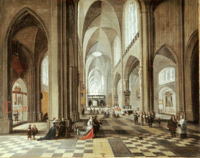 Fig. 7 Peeter Neeffs the Elder (c. 1578–1660), Church Interior, c. 1650Kurpfälzisches Museum der Stadt Heidelberg. Photo: K. Gattner