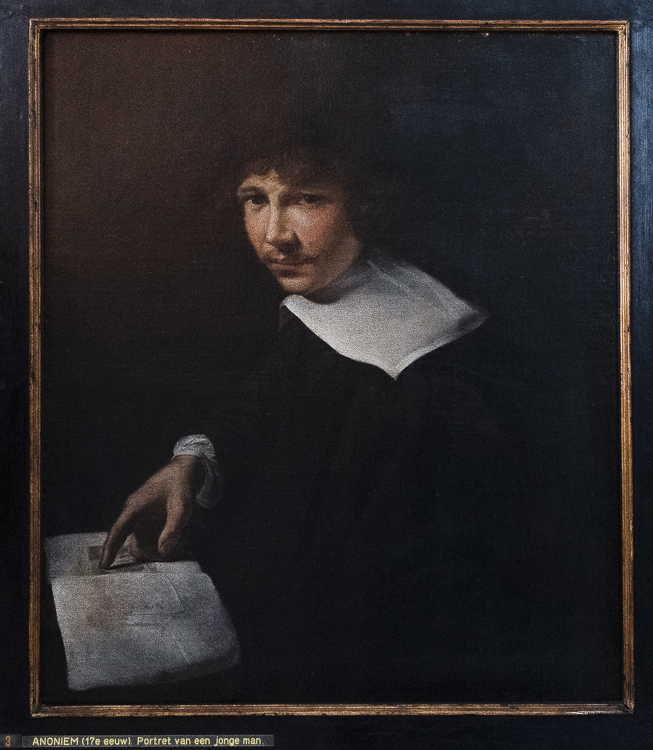 7. Anonymus, Portrait of a Young Man, 1635Maagdenhuismuseum, Antwerp