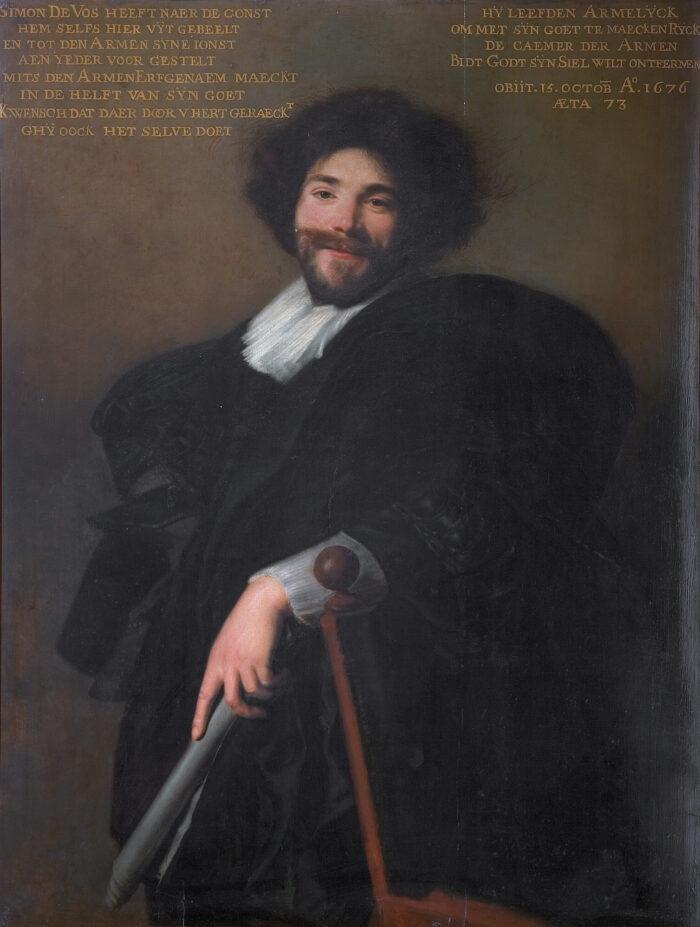 3. Abraham de Vries (1590-1649/1650), <em>Portrait of Simon de Vos</em>, 1635<br>Maagdenhuismuseum, Antwerp