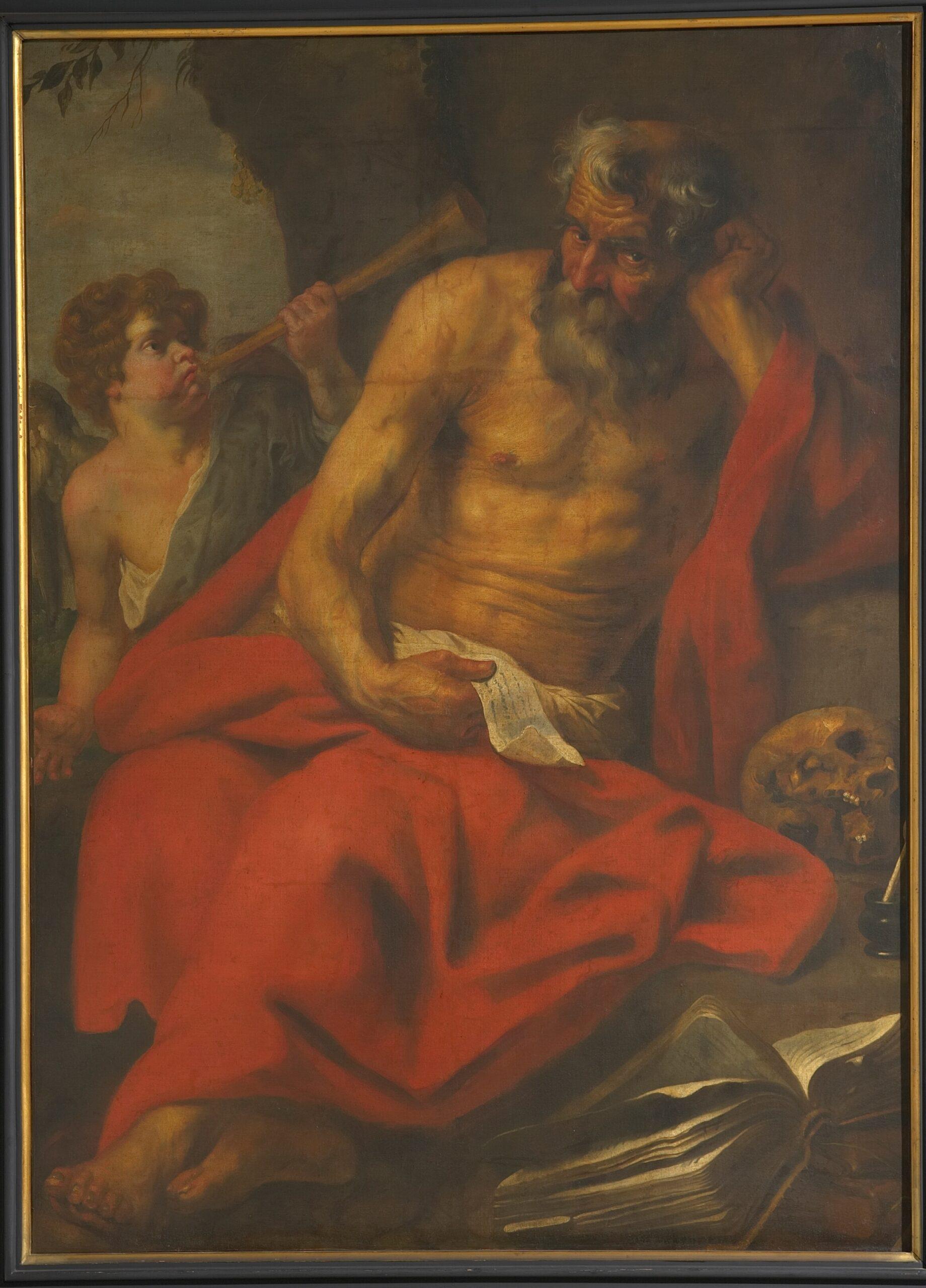 6. Follower of Anthony van Dyck, St JeromeMaagdenhuismuseum, Antwerp